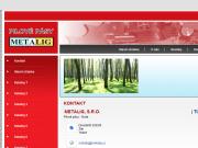SITO WEB METALIG, s.r.o.