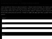 WEBOVÁ STRÁNKA ELV-INSTAL s.r.o.