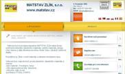 WEBOVÁ STRÁNKA MATSTAV ZLÍN, s.r.o. www.matstav.cz
