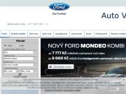 WEBOVÁ STRÁNKA Auto Viki a.s. Autorizovaný partner Ford