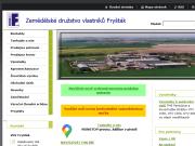 Strona (witryna) internetowa Zemedelske druzstvo vlastniku Frystak