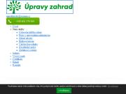 WEBOVÁ STRÁNKA Marek Kříčka - Úpravy, údržba zahrad, zeleně