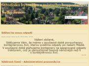 WEBOVÁ STRÁNKA Středisko bytového a místního hospodářství města Velkého Šenova