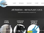 WEBOVÁ STRÁNKA Jiří Řebíček - Metalplast, s.r.o.