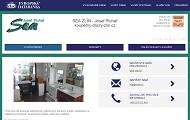 Strona (witryna) internetowa SEA ZLIN - Josef Pluhar www.drezy-koupelny-zlin.cz