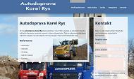 WEBOVÁ STRÁNKA Autodoprava lynx, s.r.o. Odvoz odpadu a suti Praha 9