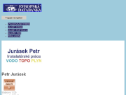 WEBOVÁ STRÁNKA Petr Jurásek