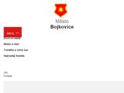 WEBOVÁ STRÁNKA Městský úřad Bojkovice Město Bojkovice