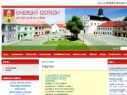 WEBOVÁ STRÁNKA Městský úřad Uherský Ostroh Město Uherský Ostroh