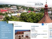 WEBOVÁ STRÁNKA Městský úřad Hulín Město Hulín