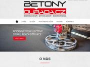 WEBOVÁ STRÁNKA Betony Ouřada s.r.o.
