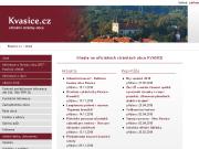 WEBOVÁ STRÁNKA Obecní úřad Kvasice