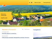 SITO WEB Obecni urad Sazovice Obec Sazovice
