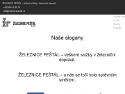 WEBOVÁ STRÁNKA Železnice Peštál, s.r.o.