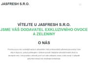 WEBOVÁ STRÁNKA JASFRESH s.r.o.