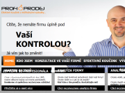 WEBOVÁ STRÁNKA Martin Gajdoš Profiprodej - Profesionální kouč