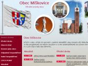 WEBOVÁ STRÁNKA Obecní úřad Míškovice Obec Míškovice