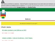 WEBOVÁ STRÁNKA Obecní úřad Medlovice Obec Medlovice