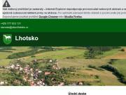 WEBOVÁ STRÁNKA Obecní úřad Lhotsko