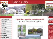 SITO WEB Obecni urad Ublo Obec Ublo