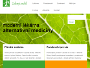 WEBSITE Lekarna Zeleny Andel Green wings s.r.o.