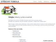 WEBOVÁ STRÁNKA STŘECHY TOBOLA s.r.o.