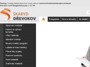 WEBOVÁ STRÁNKA ŠKARYD DŘEVOKOV s.r.o.