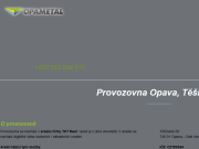 WEBOVÁ STRÁNKA OPAMETAL s.r.o. Kovošrot a sběrné suroviny
