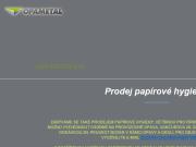 WEBOVÁ STRÁNKA OPAMETAL s.r.o. Prodej papírové hygieny Opava