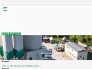 WEBOVÁ STRÁNKA Betonárna Libeň TBG METROSTAV s.r.o.