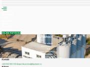 WEBOVÁ STRÁNKA Betonárna Písnice TBG METROSTAV s.r.o.
