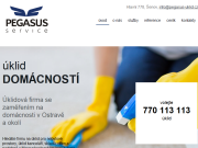 WEBOVÁ STRÁNKA Pegasus service s.r.o.
