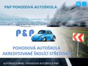 WEBOVÁ STRÁNKA P&P Pohodová autoškola P&P Traffic Academy s.r.o.