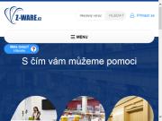 WEBOVÁ STRÁNKA Z-WARE s.r.o.