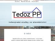 WEBOVÁ STRÁNKA Tedoz PP s.r.o.