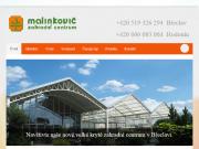 WEBOVÁ STRÁNKA Zahradní centrum Malinkovič - Důbrava s.r.o.
