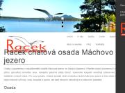 WEBOVÁ STRÁNKA CHATOVÁ OSADA RACEK EURO STAAL s.r.o.