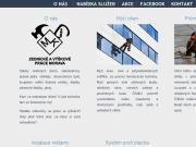 WEBOVÁ STRÁNKA Zednické a výškové práce Morava Patrik Mácha