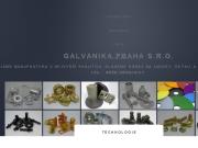 WEBOVÁ STRÁNKA GALVANIKA PRAHA s.r.o.