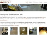 WEBOVÁ STRÁNKA Kamil Bílý průmyslové podlahy