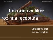 WEBOVÁ STRÁNKA Lékořicový likér První vinařská spol. s r.o.