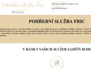 WEBOVÁ STRÁNKA Pohřební služba Fric s.r.o.