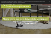 WEBOVÁ STRÁNKA Úklidové služby Henrieta