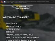 WEBOVÁ STRÁNKA SKALKA - zemní práce Bohumín