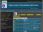 WEBOVÁ STRÁNKA Tělocvičná jednota Sokol Benešov