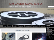 WEBOVÁ STRÁNKA MM LASER - KOVO s.r.o. laserové řezání