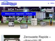 WEBOVÁ STRÁNKA MDA technology, s.r.o.