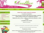 WEBOVÁ STRÁNKA ROOLLTEX s.r.o.