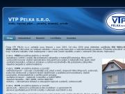 WEBOVÁ STRÁNKA VTP PELKA s.r.o.