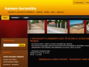 WEBOVÁ STRÁNKA KÁMEN - KERAMIKA s.r.o.